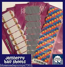 Jamberry Nails Half  Nail Wraps FAST FREE SHIPPING New Fall and Current Designs