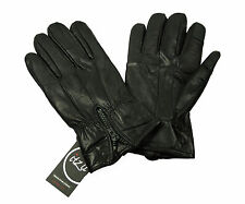 Itzu Co Soft Genuine 100% Leather Touch Screen Capacitive Gloves !Phone Ipad Lap