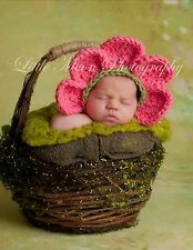 Newborn/Baby Flower Hat Photography Props