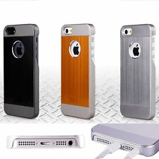 Aluminum Shockproof Dirt Dust Proof Hard Cover Case For iPhone 5 5S SE+ Film Pen