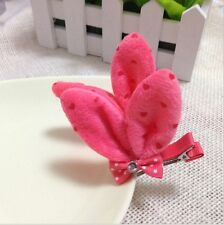 one pair cute candy color butterfly kids hair Accessories hairpin gift for girls