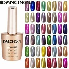 Chic Charm Metallic Soak Off Color Nail Art Manicure Gel Polish Varnish 15ml Hot