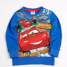 Boys Cars Lightning McQueen 100% Cotton Top (18 Months - 6 Years)