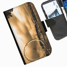City Landscapes  wallet personalised phone case for Samsung Galaxy Note II III