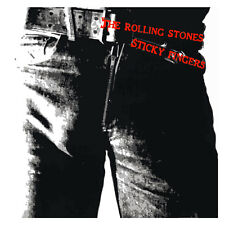 The Rolling Stones Sticky Fingers on White Graphic T Shirt