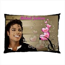 Michael Jackson Beautiful Smile Collectible Photos Pillow Case 1 & 2 Sides