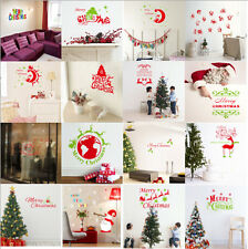 New Year Merry Christmas Waterproof Decal PVC Removable Window/Wall Sticker New