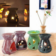 Ceramic Fragrance Oil Burners Aromatherapy Scent Candle Essential Vaporizer F794