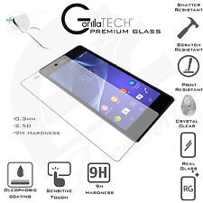 100% GENIUNE NEW TEMPERED GLASS SCREEN PROTECTOR SONY XPERIA Z3  Z3 COMPACT Z2