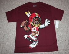 Robert Griffin III Redskins Football Shirt RG3 Red Helmet Tee T-Shirt NWT