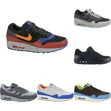 New Nike Air Max 1 Essential Premium Tape Trainers Mens