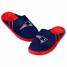 Patriots Jersey Mesh SLIDE SLIPPERS New - FREE SHIPPING - New England Patriots