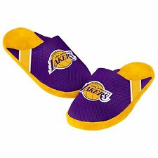 Lakers Jersey Mesh SLIDE SLIPPERS New - FREE SHIPPING - Los Angeles Lakers - NBA