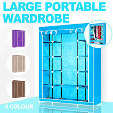 Large Portable Wardrobe Huge Space Storage Easy to assemble Brand New