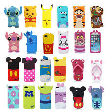 3D Cute Cartoon SuperHero Soft Back Silicone Cover Case For Apple Samsung HTC LG
