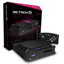 """RETRON 5 GAMING CONSOLE (BLACK) BY HYPERKIN ,BRAND NEW """"FREE SHIPPING"""""""
