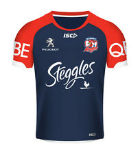Sydney Roosters ISC NRL Players Navy Training T Shirt Sizes S-3XL! BNWT's!  5
