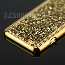 Luxury Bling Diamond Crystal Metal Electroplate Chrome Case Cover Fashion New