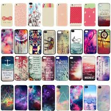 Snap On Colorful For Apple iphone Patterned Slim Sheild Back Case Cover Hard