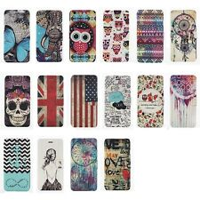 NEW Wallet Case Cover For Apple iPhone Cute Flip Cute Patterned Leather Various