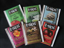 6 Flavours Individually Enveloped Tea Bags Pure Ceylon Tea  by T-Sips Sri-Lanka