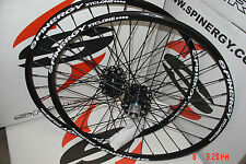 "New Spinergy Xyclone 29ER 29"" Front 15mm, Rear 12mmx 142mm PBO Spokes Wheel Set"