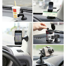 Mini Car Kit Cradle Mount Holder Clip For Smart Mobile Cell Phone Cup Camera GPS