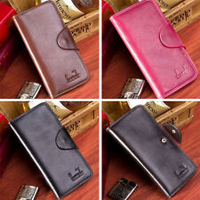 Women's New Wallets Long Handbag Clutch Bag Leather Purse Wallets ZS0025