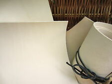 2mm NATURAL FULL GRAIN VEG TANNED LEATHER PIECES WET MOULDING VARIOUS SIZES