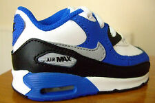 TODDLER BABY BOYS NIKE AIR MAX 90 TD TRAINERS UK SIZE 3.5 - 9.5     ( 1 6 8 )