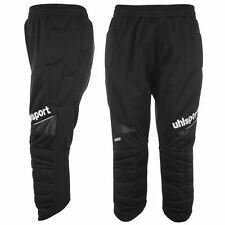 Uhlsport Mens Three Quarter Goalkeeper Padded Trousers Pants