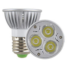 Dimmable E27 PAR16 9W 3*3W Screw LED Spot Light Fitting Bulb Lamp Downlight
