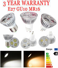 Dimmable Energy Saver LED Epistar Bright White Lamp Bulb Lights  9W GU10 E27 MR1