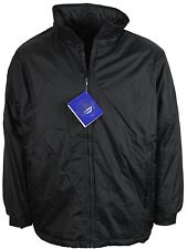 NEW MENS CASUAL HOODED JACKET WILDRIVER IN BLACK COLOUR S TO 2XL BARGAIN PRICE!