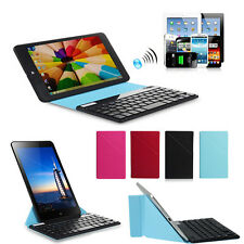 "Bluetooth Keyboard + Ultra Thin Stand Case Cover For Most 9 10 10.1 "" Tablet PC"