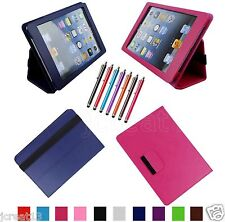 "Folio Leather Case Cover+Gift For 7.85"" Mach Speed TRIO STEALTH G4/4G Tablet BW"