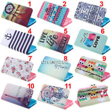 Rainbow Wallet Leather Flip Skin Case Cover For Samsung Galaxy Grand 2 G7106