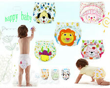 Toilet Pee Potty Training Pants Cloth Diaper Underwear For Baby Boy Girl Infant