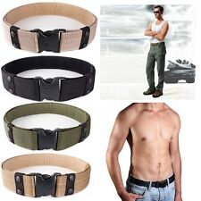 New Adjustable Outdoor Survival Combat Tactical Belt Rescue Rigger Military CQB