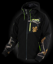 2015 FXR RECOIL REALTREE BLACK/AP SOFTSHELL JACKET FREE SHIPPING