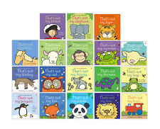 That's not my.. Toddlers Books Collection Set Fiona Watt Panda Penguin Prince