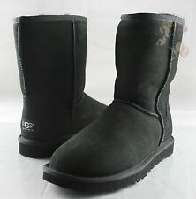 Women UGG Australia Classic Short Boot 5825 Black 100% Authentic Brand New