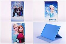 Frozen Elsa & Anna Flip Leather Case Cover For Samsung Tablet Tab 2 Tab 3 Tab 4
