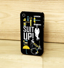 How I Met Your Mother TV Series Suit Up Quotes Case Cover for iPhone & Samsung