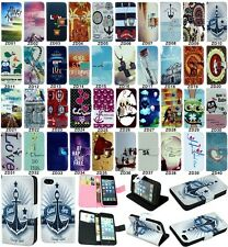 Popular flip wallet pu leather stand case cover for LG Series III L90 D405 D410