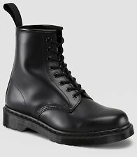 Men's Shoes Dr. Martens 1460 8 Eye 14353001 MONO Black Smooth *New with box*