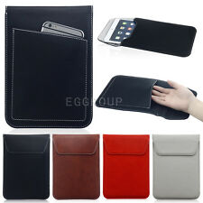 """Universal PU Leather Sleeve Bag Pouch Tablet Case for Tablet PC MID 7"""" 8"""" Hot"""