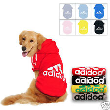 Cotton Cat Sweater Adidog Costume Dog Jacket  Winter Coat Pet Puppy Clothes