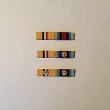 Full Size Ribbon Bars - Various Combinations of Iraq Medal & OSM Afghanistan