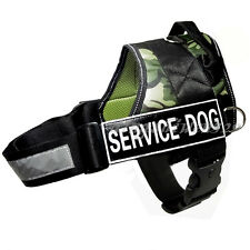 NEW Service Dog Vest Reflective Padded Velcro Patch IN TRAINING POLICE Harness
